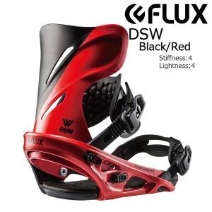 18 FLUX DSW B/D Black/Red フラックス ディーエスダブリュ― スノーボード バインディング 17-18 2017-18|extreme-ex