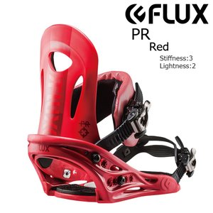 18 FLUX PR B/D Red フラックス ピーアール スノーボード バインディング 17-18 2017 2017-18|extreme-ex