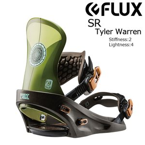 18 FLUX SR B/D T.Warren フラックス エスアール スノーボード バインディング 17-18 2017 2017-18|extreme-ex