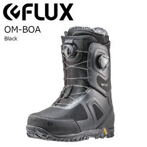 2大特典付 19 Flux OM-BOA Boots Black フラックス オーエムボア スノーボード ボア 18-19 19Snow|extreme-ex