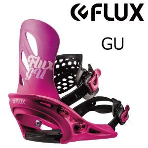 特典付 19 FLUX ビンディング GU Pink (W) フラックス binding ジーユー スノーボード 18-19 2018|extreme-ex
