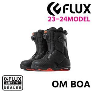 アウトレットセール 20-21 FLUX BOOTS フラックス ブーツ OM BOA オーエム ボア BLACK ブラック 23 23.5 24 24.5 25 25.5 26 26.5 28 28.5 メンズ ラマさん|extreme-ex