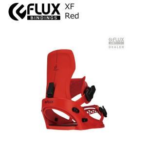 予約商品 21-22 FLUX フラックス XF エックスエフ Red レッド XS S M L メンズ レディース ビンディング バインディング スノーボード スノボー スノボ 2122 extreme-ex