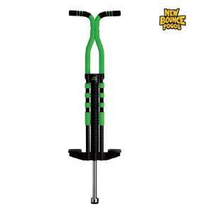 代引き不可商品 NewBounce ProSport Pogo stick BL/GRN ex.#3104-ProSport BG プロスポーツ ポゴ ブラック/グリーン ホッピング ポゴスティック extreme-ex