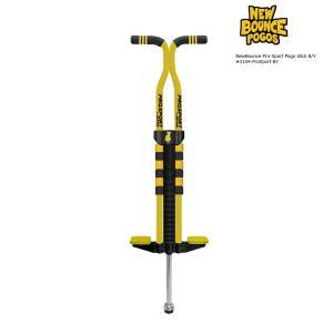 代引き不可商品 NewBounce ProSport Pogo stick B/Y ex.#3104-ProSport BY プロスポーツ ポゴ ブラック/イエロー ホッピング ポゴスティック extreme-ex