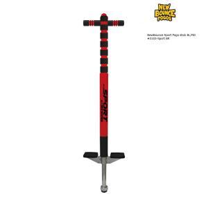 代引き不可商品 NewBounce Sport Pogo stick BL/RD ex.#3103-Sport BL/RD スポーツポゴスティック ブラック/レッド extreme-ex