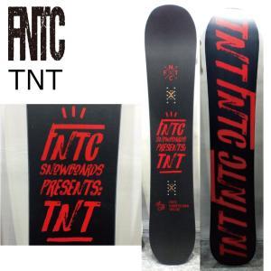 予約商品 5大特典付 19 FNTC TNT Black/Red エフエヌティーシー ティエヌティ ダブルキャンバー 19Snow スノーボード|extreme-ex