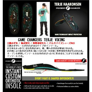 FP INSOLES-KING FOAM GAMECHANGERS TERJE VIKING FOOT PRINT INSOLES テリエハーコンセン 熱成型可能|extreme-ex