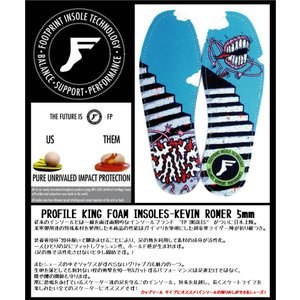 FP INSOLES-KING FOAM INSOLES- NEW JAWS 7mm(フラットソール) FOOT PRINT INSOLES フットプリントインソール|extreme-ex