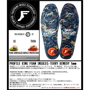 FP INSOLES-KING FOAM INSOLES- TERRY KENEDY 5mm(フラットソール) FOOT PRINT INSOLES !フットプリントインソール|extreme-ex