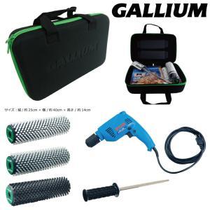 Gallium Wax RYOBIドライバー付 ガリウム ロトブラシ 3本セット&専用ケース付 保障有 (ソフト ハード ボア ハンドル ドライバー)|extreme-ex