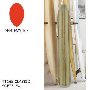 予約商品 4大特典付 19 GENTEMSTICK TT165 CLASSIC SOFTFLEX (18003) ゲンテンスティック ティーティーソフトフレックス フラットキャンバー フラット 18-19|extreme-ex