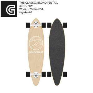 GOLDCOAST THE CLASSIC BLOND PINTAIL 40H×9W vigc44-40 ピンテール コンプリート ゴールドコースト ソフトウィール|extreme-ex