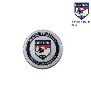 予約商品 21-22 HESTRA ヘストラ 91700 LEATHER BALM 60ml ポケットサイズ レザーバーム レザー用メンテナンスクリーム 本革 メンテナンス|extreme-ex