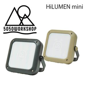 5050WORKSHOP HILUMEN MINI ハイルーメンランタン ミニ アウトドア 災害 LED ポータブル充電器 1000ルーメン USB充電式ランタン スマフォ充電 extreme-ex