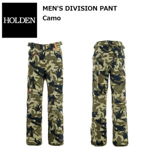 18 HOLDEN DIVISION Pant CAMO ホールデン デビジョン パンツ カモ 17-18 2017-18|extreme-ex