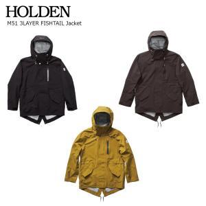 19 HOLDEN M51 3LAYER FISHTAIL Jacket ホールデン スリーレイヤー フィッシュテール ジャケット スノーボードウエア 18-19 19Snow|extreme-ex