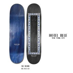 HOTEL BLUE ホテルブルー TILE DECK SKATEBOARD スケートボード 8 8.25 デッキ スケボー|extreme-ex