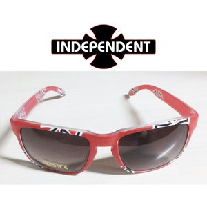 INDEPENDENT SUNGLASS Red インデペンデント サングラス|extreme-ex