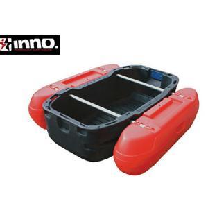 INNO フロートボート デビルレッド カーメイト CARMATE Z1DR 沼での釣り等に最適!!車に積める大きさ!!フロートボート 組立式ボート|extreme-ex