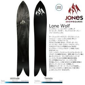18 JONES LONE WOLF ジョーンズ ローンウルフ パウダー バックカントリー 17-18 2017-18|extreme-ex