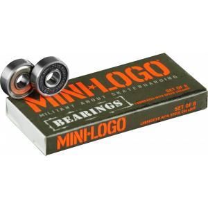 MINILOGO スケートボード ベアリング 【 MINILOGO  BEARINGS (8 PACK) 】 スケボー ミニロゴ ポスト投函(メール便) extreme-ex