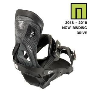 予約商品 3大特典付 19 NOW DRIVE B/D BLACK Hanger2.0  ナウ ドライブ スノーボード バインディング 18-19 2018|extreme-ex
