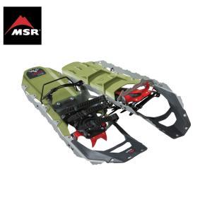MSR Revo Ascent オリーブ 22inc&25inc エムエスアール レボアッセント スノーシュー|extreme-ex