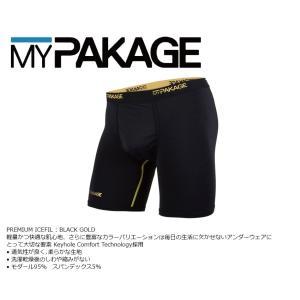 MyPakage PREMIUM ICEFIL BLACK GOLD 股下6inch丈 マイパッケージ ボクサーパンツ キーホール コンフォート MPPI ポスト投函(メール便)|extreme-ex