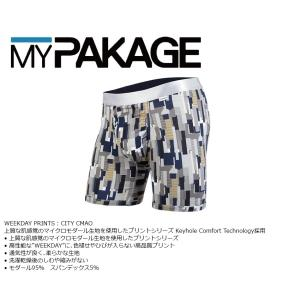 MyPakage WEEKDAY PRINT CITY CAMO 股下6inch丈 マイパッケージ ボクサーパンツ キーホール コンフォート MPWDP extreme-ex