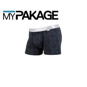 MyPakage WEEKDAY TRUNKS PRINT MIDNIGHT/SILVER 股下3inch丈 マイパッケージ ボクサーパンツ キーホール MPWTP ポスト投函(メール便)|extreme-ex