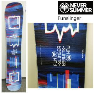 5大特典付 19 NEVER SUMMER Funslinger ネバーサマー ファンスリンガー ダブルキャンバー 19Snow スノーボード|extreme-ex