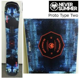 予約商品 5大特典付 19 NEVER SUMMER Proto Type Two ネバーサマー プロトタイプトウ― ダブルキャンバー 19Snow スノーボード|extreme-ex