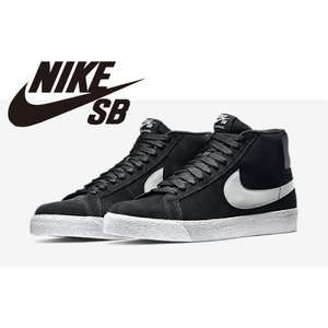 NIKE SB ズーム ブレーザー MID プレミアム SE ブラック/ホワイト/ベースグレー スケートシューズ スケシュー スケボー スケートボード ナイキ|extreme-ex