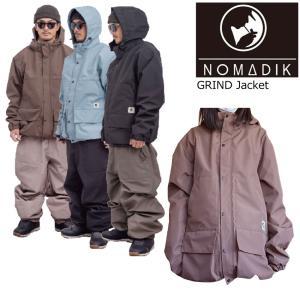 予約商品 21-22 NOMADIK ノマディック Grind SnowWear Jacket グラインド スノーウエア ジャケット ボードウエア 正規品 スノボ 國母 和宏 工藤 洸平|extreme-ex