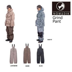 予約商品 21-22 NOMADIK ノマディック Grind SnowWear Pant グラインド スノーパンツ パンツ ボードウエア 正規品 スノボ 國母 和宏 工藤 洸平|extreme-ex
