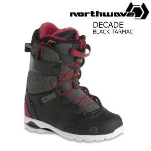 18 NORTH WAVE DECADE S Boots BlackTarmac ノースウェーブ ディケード スノーボード ブーツ 17-182017 2017-18|extreme-ex