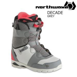 18 NORTH WAVE DECADE S Boots Grey ノースウェーブ ディケード スノーボード ブーツ 17-182017 2017-18|extreme-ex