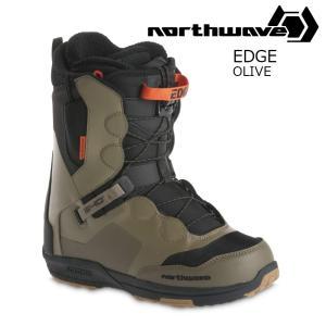 18 NORTH WAVE EDGE Boots Olive ノースウェーブ エッジ スノーボード ブーツ 17-182017 2017-18|extreme-ex