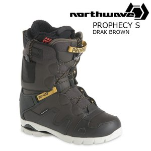 18 NORTH WAVE PROPHECY S Boots DarkBrown ノースウェーブ プロペシー スノーボード ブーツ 17-182017 2017-18|extreme-ex