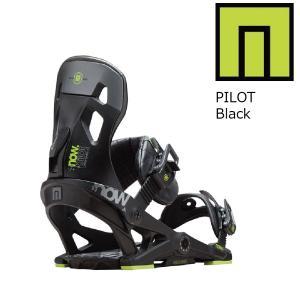 18 NOW PILOT  B/D Black ナウスノーボーディング パイロット スノーボード バインディング 17-182017 2017-18|extreme-ex