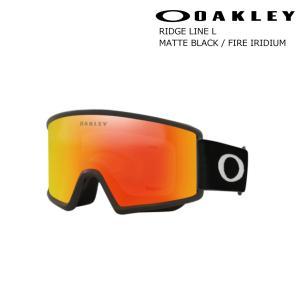 予約商品 21-22 OAKLEY オークリー Goggle ゴーグル RIDGELINE L Matte Black / Fire-Iridium リッジライン ラージ マットブラック ファイヤーイリジウム スノボ|extreme-ex