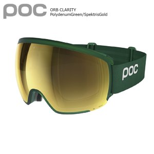 19 POC Goggle ORB CLARITY PolydenumGreen/SpektrisGold ポック オーブ クラリティ― ボードゴーグル 18-19 2018-19 19Snow|extreme-ex
