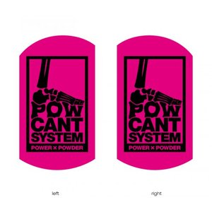 POWCANT System PINK/BLACK ビス付パウカント 動きが変わる魔法のカント ポスト投函(メール便)|extreme-ex