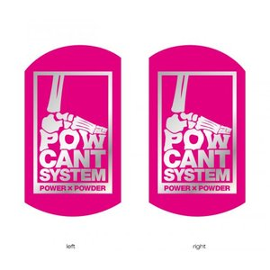 POWCANT System PINK/SILVER ビス付パウカント 動きが変わる魔法のカント ポスト投函(メール便)|extreme-ex