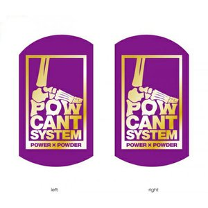 POWCANT System PURPLE/GOLD ビス付パウカント 動きが変わる魔法のカント ポスト投函(メール便)|extreme-ex