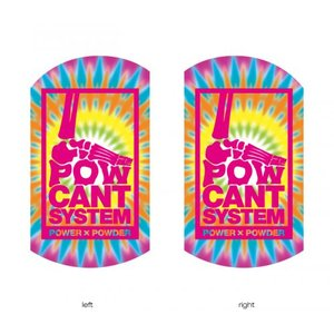 POWCANT System TIEDYE/PINK ビス付パウカント 動きが変わる魔法のカント ポスト投函(メール便)|extreme-ex