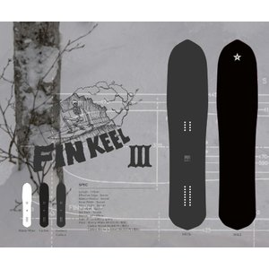 プレチューン付 19 RAYBACK FINKEEL3 ROCKER CARBON 4'9