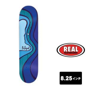 REAL スケートボード デッキ 8.25インチ【 MORE LOVE KEITH HUFNAGEL HUF 】 スケボー リアル SKATEBOARD|extreme-ex