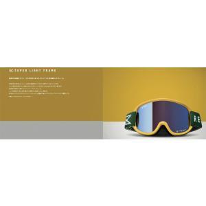 19 REVOLT Goggle Super Light Frame TortoiseShell / Brown Mirror-Pola(RP) リボルト 平面レンズ(偏光レンズ) ゴーグル 18-19 2018-19 19Snow|extreme-ex
